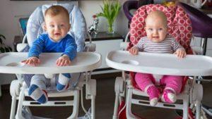 Comment choisir sa chaise haute pour b b tac m - A quel age bebe tient assis dans une chaise haute ...